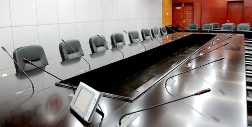 银行会议室