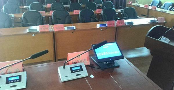 数字会议代表话筒QT-B525D的安装